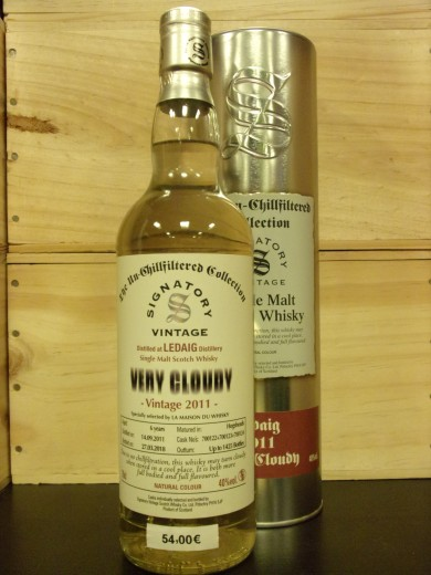 LEDAIG 2011  SINGLE MALT...