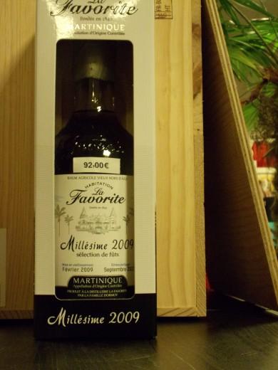 LA FAVORITE MILLESIME 2009...
