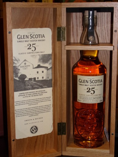 GLEN SCOTIA 25 ANS SINGLE...