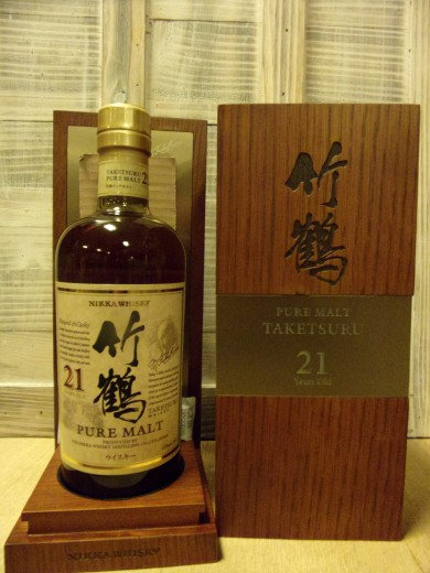 NIKKA 21 ans Taketsuru 43%