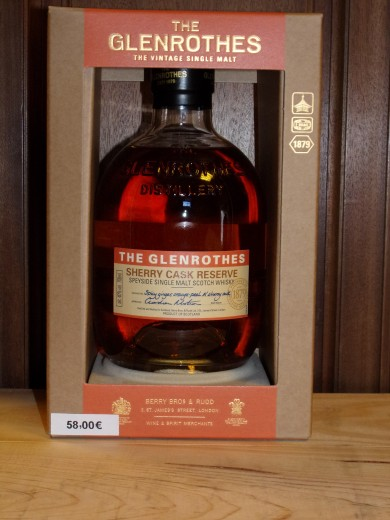 GLENROTHES (The) Sherry...