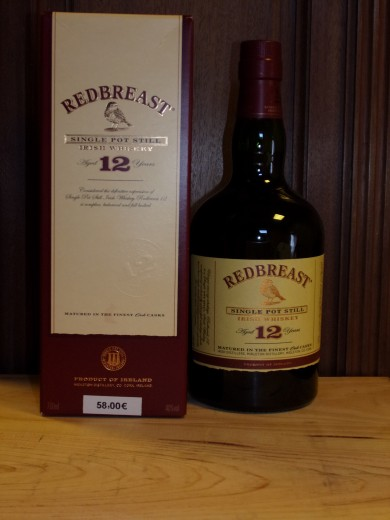 REDBREAST 12 ans Single Pot...