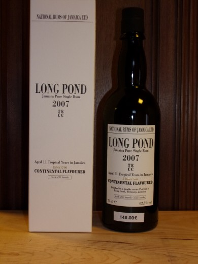 LONG POND 11 ans 2007 TECC...