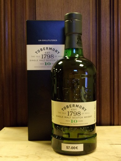 TOBERMORY 10 ans SINGLE...