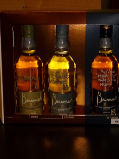 BENROMACH Triple Pack 10...