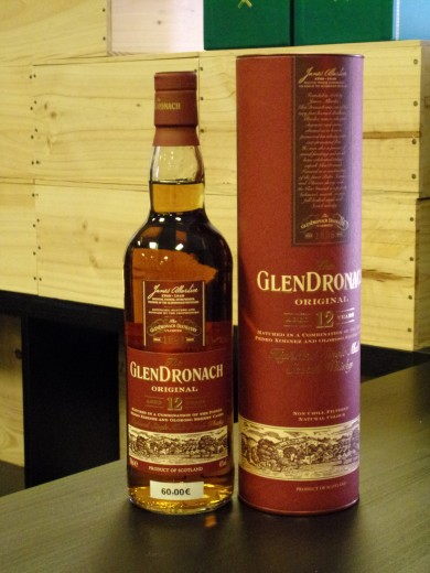 GLENDRONACH  SINGLE MALT 12...