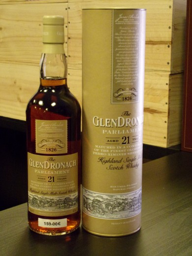 GLENDRONACH  SINGLE MALT 21...