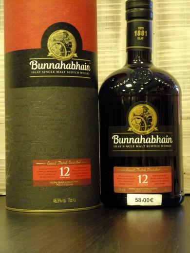 BUNNAHABHAIN SINGLE MALT 12...