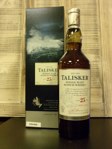 TALISKER SINGLE MALT 25 ans...