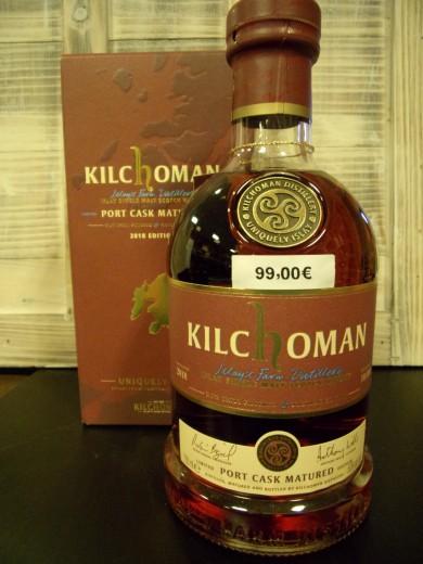 KILCHOMAN Port Cask Matured...